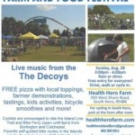 Lake Champlain Islands Farm & Food Festival (4th annual!)